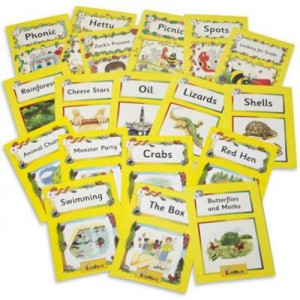JOLLY PHONICS READERS LEVEL 2 ( 18 TITLES)
