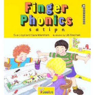 FINGER PHONICS BOOK 1 s, a, t, i, p, n