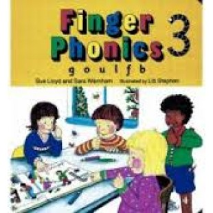FINGER PHONICS BOOK 3 g, o, u, l, f, b