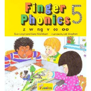FINGER PHONICS BOOK 5 z, w, ng, v, oo, OO