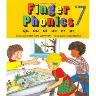 FINGER PHONICS BOOK 7 qu, ou, oi, ue, er, ar