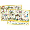 Jolly Phonics Letter Sound Wall Chart