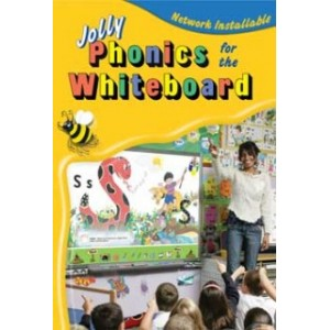 Jolly Phonics For The Whiteboard (Site Licence In Precursive Letters)