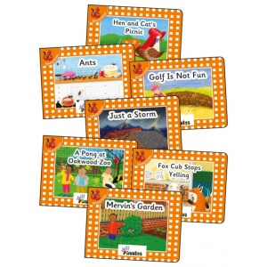 Jolly Phonics Orange Readers Complete Set (21 titles)