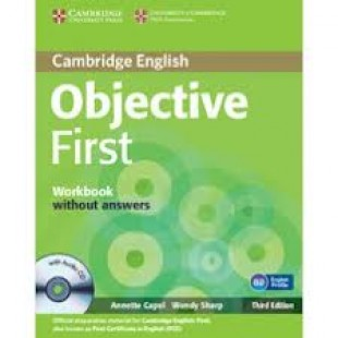OBJECTIVE FIRST CERTIFICATE WORKBOOK (without answers)  & CD