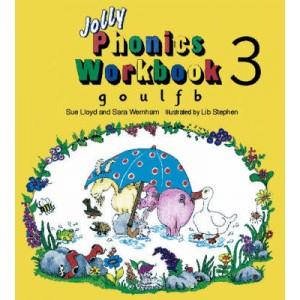JOLLY PHONICS 3 WORKBOOK  g ,o ,u ,l  ,f , b