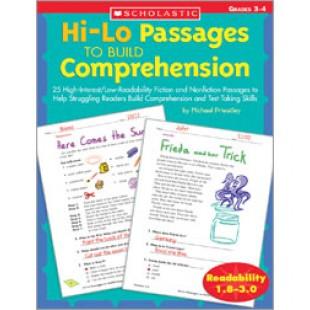 COMPREHENSION BOOK GRADES 3-4