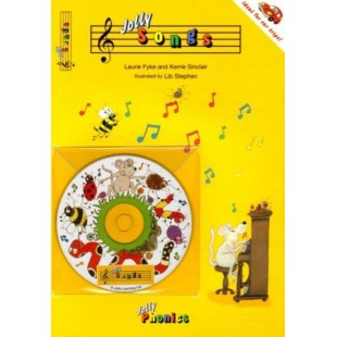 JOLLY SONGS BOOK + CD
