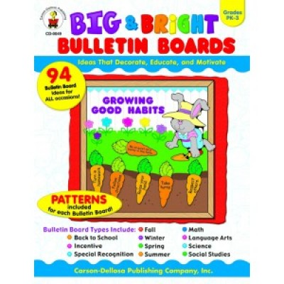 BIG AND BRIGHT BULLETIN BOARDS