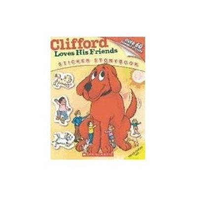 CLIFFORD LOVES HIS FRIENDS (LIBRO DE PEGATINAS)