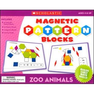 MAGNETIC BLOCKS-ZOO ANIMALS