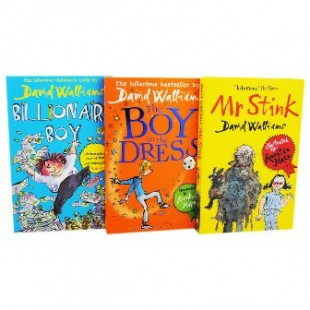 BOXSET OF BESTSELLERS ! DAVID WALLIAMS