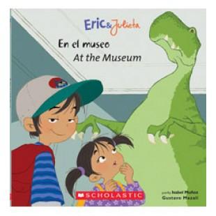 ERIC AND JULIETA , AT THE MUSEUM/EN EL MUSEO