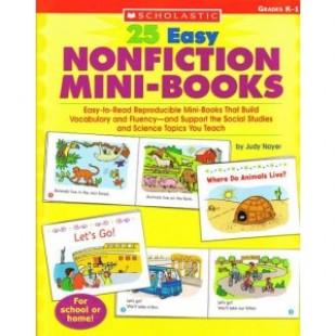 25 EASY NONFICTION MINI-BOOKS
