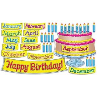BIG-BIRTHDAY CAKE BULLETIN BOARD