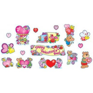 VALENTINE´S DAY MINI BULLETIN BOARD SET