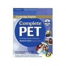 COMPLETE PET SB WITH ANSWERS (+ CD)