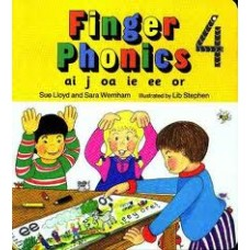 FINGER PHONICS BOOK 4 ai, j, oa, ie, ee, or