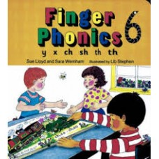 FINGER PHONICS BOOK 6 y, x, ch, sh, th