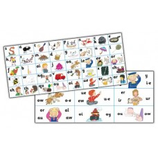 JOLLY PHONICS LETTER SOUND STRIPS (30 Uds)