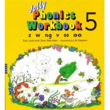 JOLLY PHONICS 5 WORKBOOK z, w, ng, v, oo, OO