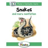 JOLLY PHONICS GREEN LEVEL 3 READER Snakes & more nonfiction