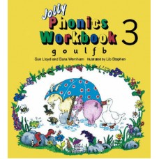 JOLLY PHONICS 3 WORKBOOK  g ,o ,u ,l  ,f , b