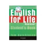 ENG FOR LIFE BEGINNERS STUDENTS BOOK+CD