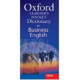 OXFORD POCKET DICTIONARY BUSINESS ENGLISH