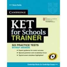 CAMBRIDGE KET FOR SCHOOLS TRAINER BK