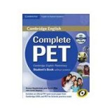 COMPLETE PET SB WITHOUT ANSWERS (+CD-ROM) (SPANISH)