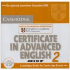 CAMBRIDGE C.A.E ENGLISH 2 FOR UPDATED EXAM AUDIO CD