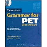 CAMBRIDGE GRAMMAR FOR PET, BOOK WITH ANSWERS (B1)