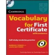CAMBRIDGE VOCABULARY FOR FCE  WITH ANSWERS + CD