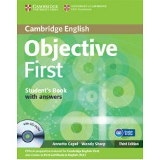 OBJECTIVE FCE SB WITH ANSWERS +CD-ROM (3TH ED)