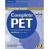 COMPLETE PET WB WITH ANSWERS+CD