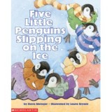 FIVE LITTLE PENGUINS SLIPPING ON THE ICE+CD