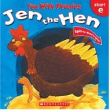 JEN IN THE HEN SHORT E (FUN WITH PHONICS)