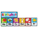 QUICK STICK BULLETIN BOARD SET ALPHABET
