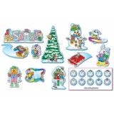 BULLETIN BOARD SET MINI WINTER