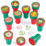 CHRISTMAS SELF-INK STAMPERS