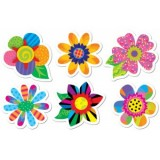 SPRING FLOWERS CUT-OUT